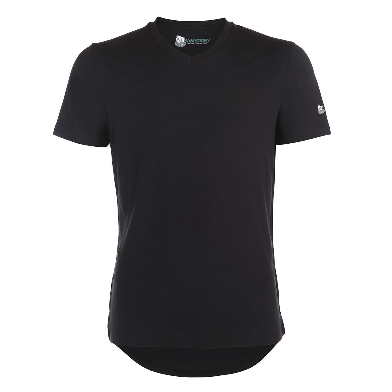 Heren v-hals luxe shirt